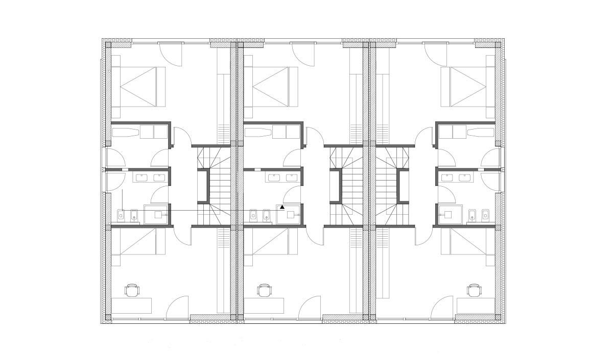 Tloris 1. nadstropja