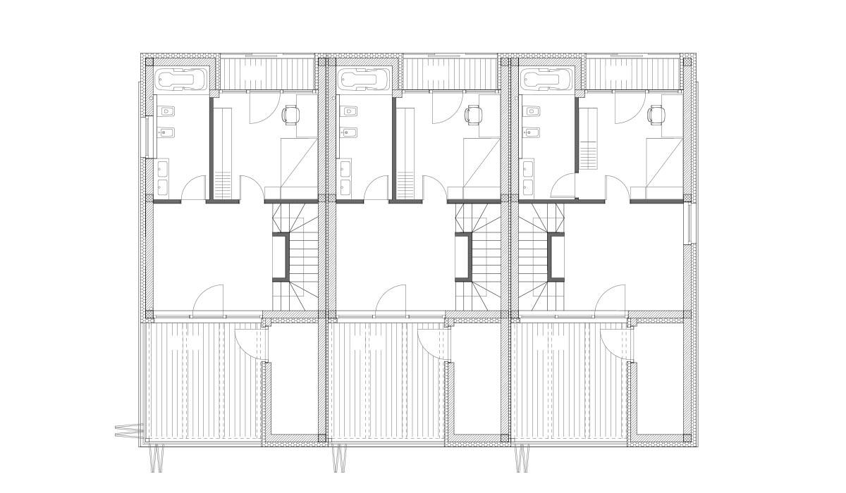 Tloris 2. nadstropja
